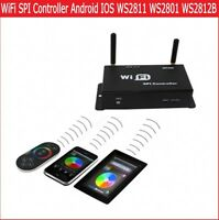 WiFi SPI Controller Android IOS Support WS2811 WS2812B LPD6803 WS2801 LED Pixel
