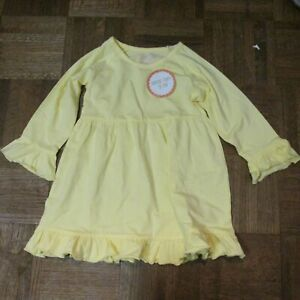 NEW Southern Tots Girls Yellow Ruffle Top Size 5