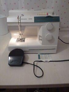 Husqvarna emerald 116 heavy duty sewing machine vg cond had regular services