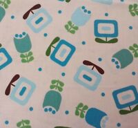 Piccadilly by Sparky & Marie BTY Quilting Treasures Teal Blue Brown Green Floral