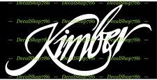 Kimber Firearms - Hunting/Outdoor Sports - Vinyl Die-Cut Peel N' Stick Decals