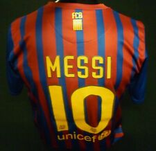 FC BARCELONA FOOTBALL SHIRT HOME 2011/12 MESSI #10 NIKE SIZE M FIFA CHAMPIONS