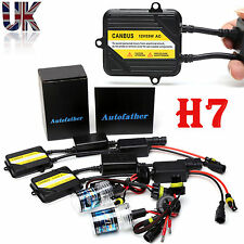 H7 55W CANBUS HID XENON SLIM KIT NO FLICKER NO ERROR SHOW ON DASH AUTO 6000K