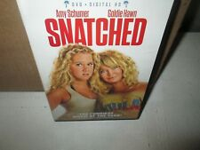 SNATCHED 2017 Comedy dvd GOLDIE HAWN Joan Cusack AMY SCHUMER Mint