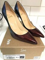 Christian Louboutin Decollete 554 100 Patent Leather Heels Univers size 36.5