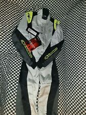 Alpinestars k-mx1 Racing Suit Euro 42 Black And Yellow New In Bag 13-18
