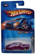 2005 Hot Wheels #100 Red Lines Tail Dragger China Base