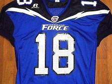 Classic Georgia Force #18 AFL Football Jersey by Russell Athletic, Large, NICE!!