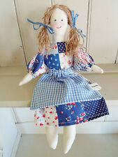 Rag Doll Craft Kit Patchwork Vintage Toy Sewing Kit Easy to Make & Gorgeous!!