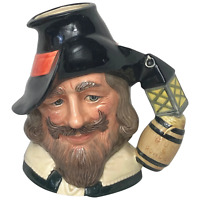 Fine Vintage 20th Century Royal Doulton Pottery Toby Guy Fawkes Character Jug