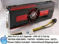 Apple Radeon HD7950 3GB GDDR5 PowerColor, Mac Pro 3,1-5,1 Power Cables, 5870
