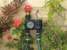 Temporizador de agua de jardín doble salida por costo wiseâ ®, los especialistas en irrigación