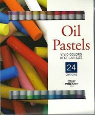 OIL PASTELS ~ 24 DIFFERENT COLORS! ~ PASTEL SET ~ FREE SHIPPING!!