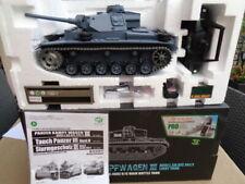 RC  Panzer III Kampfwagen 3 1:16 Rauch Sound Schuß V7.0 Metallketten PRO IR u BB