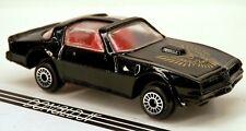 Zee Toys 1977-1978 Pontiac Firebird T-Tops Black #D93 1/64 Scale