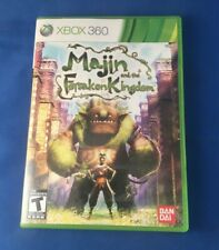 Majin and the Forsaken Kingdom (Microsoft Xbox 360, 2010) Complete with Manual