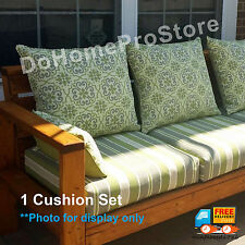 hd designs high-back outdoor / patio chair replacement cushion | ebay - Hd Designs Outdoors Patio Furniture