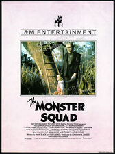 THE MONSTER SQUAD__Original 1987 Trade Print AD promo / poster__Ashley Bank