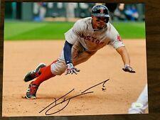 Boston Red Sox Xander Bogaerts Autographed Signed 11x14 Photo JSA COA #2