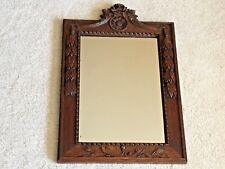 Black Forest Hanging Mirror French 12x18