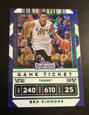 Ben Simmons 2020-21 Panini Contenders Draft Game Ticket Green Explosion #14 LSU