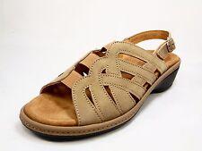 Spring Step Kaylana Slingback Sandals Tan Nubuck Size 41(US:9.5-10)