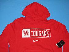 NWT NIKE HOUSTON COUGARS Sweatshirt HOODY Size L Red University UH