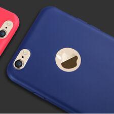 Fino Mate Antichoque Funda Gel de Silicona Para Apple IPHONE 5 6 6s 7 8 Plus X