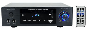Rockville BLUAMP 150 Home Stereo Bluetooth Amplifier Receiver Optical/Phono/RCA
