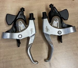 Shimano ST MC18 3x8 Speed Shifter / Brake Duo Set Alivio Retro Bike Parts