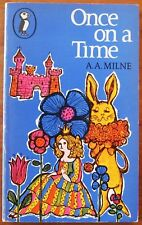 Once On a Time by A A Milne 1st Puffin Paperback