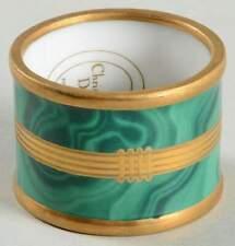 Christian Dior GAUDRON-MALACHITE GREEN Napkin Ring 55003
