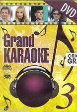 GRAND 3 KARAOKE DVD Best Hit Folk Stoja Ilda Aca Lukas Ljuba Dejan Matic Srbija