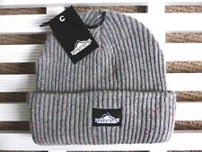 PENFIELD USA Chunky Grey Beanie Hat - Super Comfy & Warm - One Size - Toque NEW
