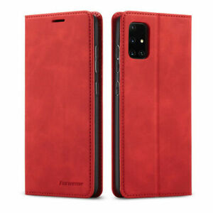 For Samsung Galaxy A71 A51 A21S A70 A50 Magnetic Flip Wallet Leather Case Cover