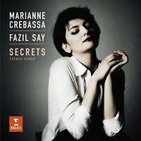MARIANNE/SAY,FAZIL CREBASSA - SECRETS-FRANZÖSISCHE LIEDER   CD NEU