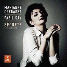 Marianne/Say, Fazil crebassa-SECRETS-francese CANZONI CD NUOVO