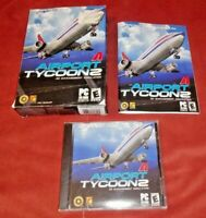 Airport Tycoon 2 (PC, 2003) w/ Original Box & Manual