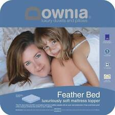Downia Luxury Duck Feather and Down Mattress Topper DOUBLE Bed Size RRP $239