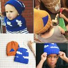 Fashion Baby Kid Boys Girls Toddler Knitted Crochet Beanie Winter Hat Caps
