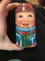 Vintage CAROLING BROTHER Cap Tins Made In England by Daher The Tin Box Co