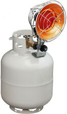 Stainless Steel Portable Gas Tank Top Outdoor Propane Heater NonSlip Base Silver