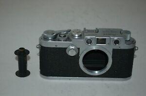 Leotax Elite Vintage 1958 Japanese Rangefinder Camera. Serviced. 309954. UK Sale