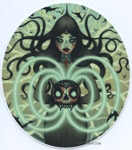 Power Witch STICKER Decal Artist Tara Mcpherson TM66