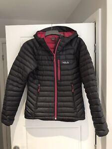Rab Microlight Alpine Jacket Womens Size 10