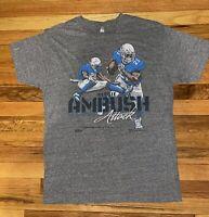 """Pro Merch Reggie Bush #21 """"Ambush"""" Detroit Lions Shirt Mens L Poly/Cotton Blend"""