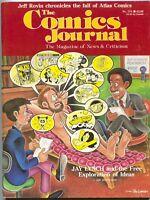 Comics Journal 114 February 1987 VF Atlas Jay Lynch Frank Miller Watchmen Elektr