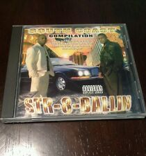 South Coast Compilation Str-8-Ballin 1997 Too Loaded Records New Orleans Rap Cd