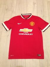 Manchester United Nike Dri-Fit Men's Medium Red & White Football Shirt