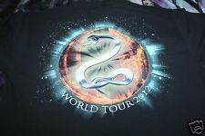 The Treatment Rock Band World Tour 2012 T Shirt XL Black Fruit of the Loom